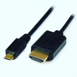 CABLE DE MICRO USB A HDMI MHL