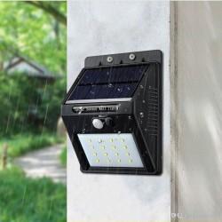 Energía Solar con Sensor de...